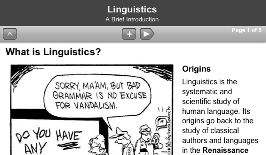 Linguistics (Mobile)