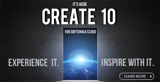 NEW – Create 10 for SoftChalk Cloud