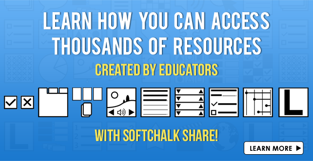 Explore SoftChalk Share Repository