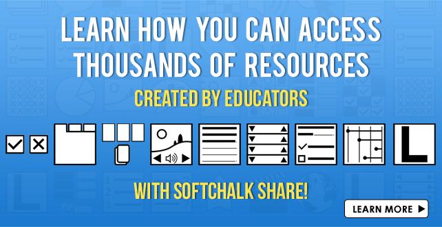 Explore SoftChalk Share Repository