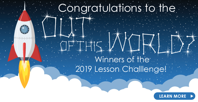 2019 Lesson Challenge Winners
